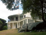 Strickland House from the walking track .......