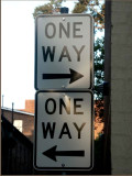 One way both ways