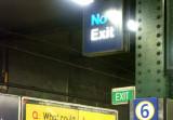 Not no exit