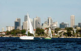 Easter Monday on Sydney Harbour