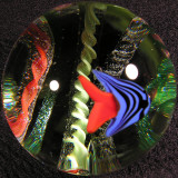 Glass Eye Studio: Liquid Forest Size: 1.89 Price: SOLD