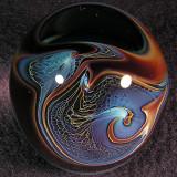 #469: Rebecca Stewart, Lava Lander Size: 1.61 x 2.17 Price: $45