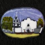 #186: Mission San Diego de Alcala Size: 1.43 x 1.01 Price: $325