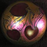 #476: Lundberg Studios, Hearts Entwined Size: 2.99 Price: $160