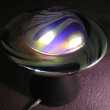 #479: Lundberg Studios, Saturn Nights Size: 2.77 H x 5.20 W Price: $220