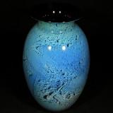 Josh Simpson Blue New Mexico Vase
