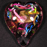 #22: Heart on Fire Size: 3.30 W x 1.26 H Price: $65