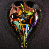 #30: Heart Aflame Size: 4.03 L x 2.90 W Price: $55