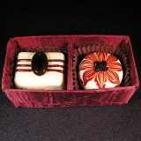 Dinah Hulet Marbles and Glass Chocolates For Sale