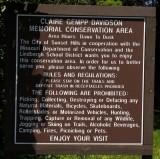 Claire Gempp Davidson Conservation Area June 13