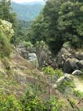Canyon en bas des chutes