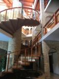 Le hall d'entrée de notre hôtel