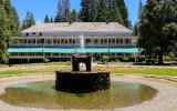 The Big Trees Lodge, originally established in 1856, in Yosemite National Park