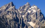 Rugged Peaks of the Grand Teton Range in Grand Teton National Park