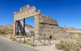 Porter Brothers supply store in the Rhyolite Historic Townsite