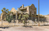 The railroad depot and later a casino in the Rhyolite Historic Townsite