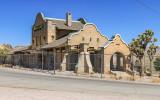 Rhyolite Railroad/Casino building in the Rhyolite Historic Townsite