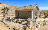 Tom Kelly bottle house in the Rhyolite Historic Townsite