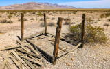 Unmarked gravesite in the Rhyolite Historic Townsite