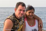 A Couple along the Malecon