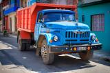 Russian Zil Dump Truck