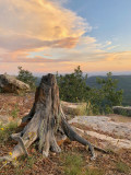 Mogollon Rim : Sunset to the East