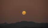 Full Moon rises over the Tararua's