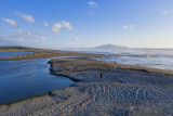 Otaki River mouth in winter