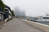 Foggy Morning in Seaport Village