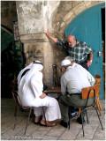 Arab Quarter (playing Sheshbesh)