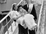 Shipboard wedding