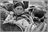 Face of the Mayan Woman