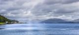 Rothesay Bay and the Cowal hills