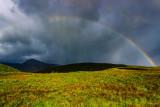 Rainbow over the moor