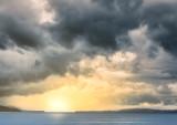 Balmerino sunset