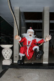 Dewa drove us to Sanur, where we found Santa late afternoon, Dec. 18. Hindus don't celebrate Christmas but Santa comes anyway!