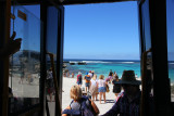 Took the hop on hop off Explorer Bus around the island. Lots of people got off at a beautiful beach.