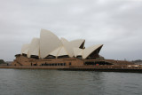 Woke up in Sydney. Took taxi from White Bay to Circular Quay, then ferry to Manly Beach. Passed Opera House (of course).
