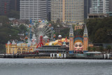 Luna Park Sydney from the ferry