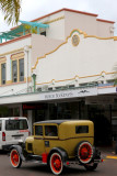 Town was rebuilt in art deco style after 1931 quake.