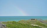 Rainbow Over the Atlantic