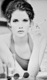 90's Girl with a cigarette  - Rivka / Wild Models Milano - Max Models Rotterdam