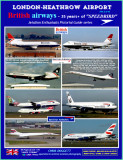 Vol.2 of 4 - London Heathrow - 30 Years of British Airways from the Mid 80's to current day. Now updated Oct.2020!