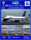 The Boeing 747 'Queen of the Skies' at London Heathrow. Available now!