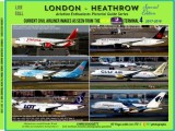 London Heathrow - Airliners 2017-2019 (From the Premier Inn T4) Available now!