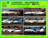London Heathrow - Airliners 2017-2019 (From the Premier Inn T4). Now available!