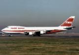 Boeing 747-100 N133TW