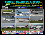London Heathrow - European Airlines from the past 1970's-1980's (Retro Vol1)  Available now!  £37.99
