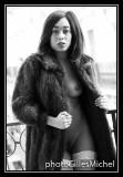 Martina, nude on the balcony