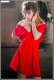 Sensuality in red